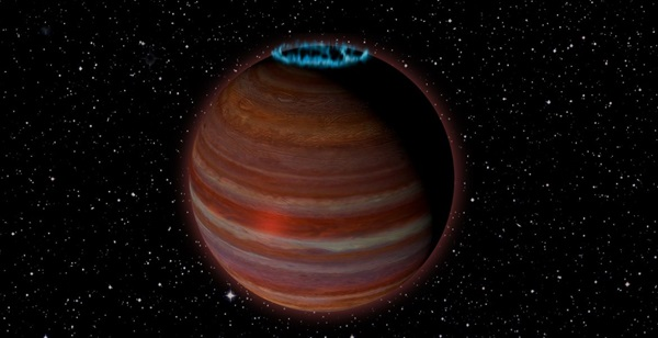 Astronomers discover a free-range planet with incredible magnetism