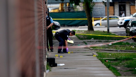 14 hours in Chicago: 44 shot, 5 killed