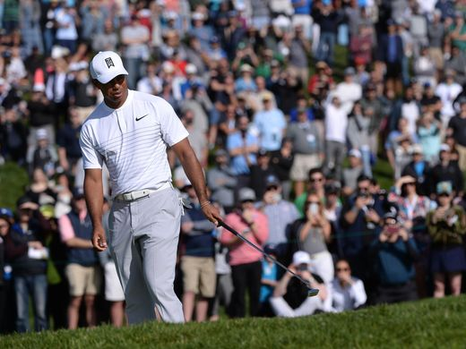 Tiger Woods moves on to PGA Championship as Justin Thomas wins Bridgestone by four shots