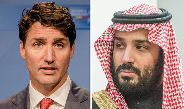 Saudis expel Canadian envoy, freeze new trade deals over tweets about rights activist