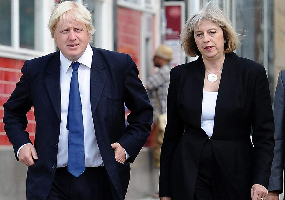 Theresa May calls on Boris Johnson to say sorry for burqa remarks