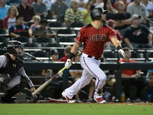 Diamondbacks OF David Peraltas shoulder injury not a major concern