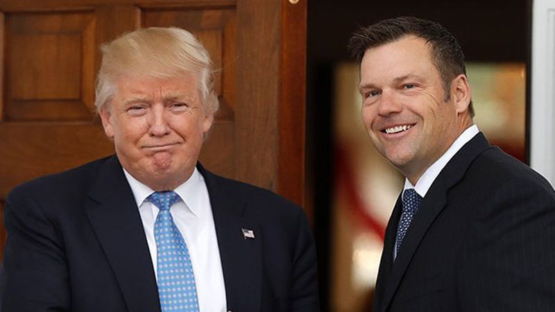 Kansas GOP governor primary too close to call; Kobach, Colyer send supporters home