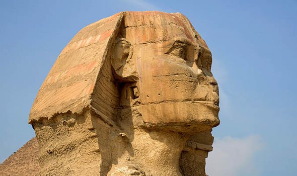 Egypts second sphinx FOUND: Ancient statue discovered during ROAD WORKS