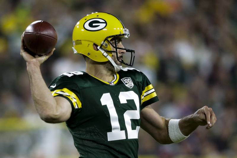 Aaron Rodgers Leads Packers to Heroic Comeback vs. Mitchell Trubisky, Bears