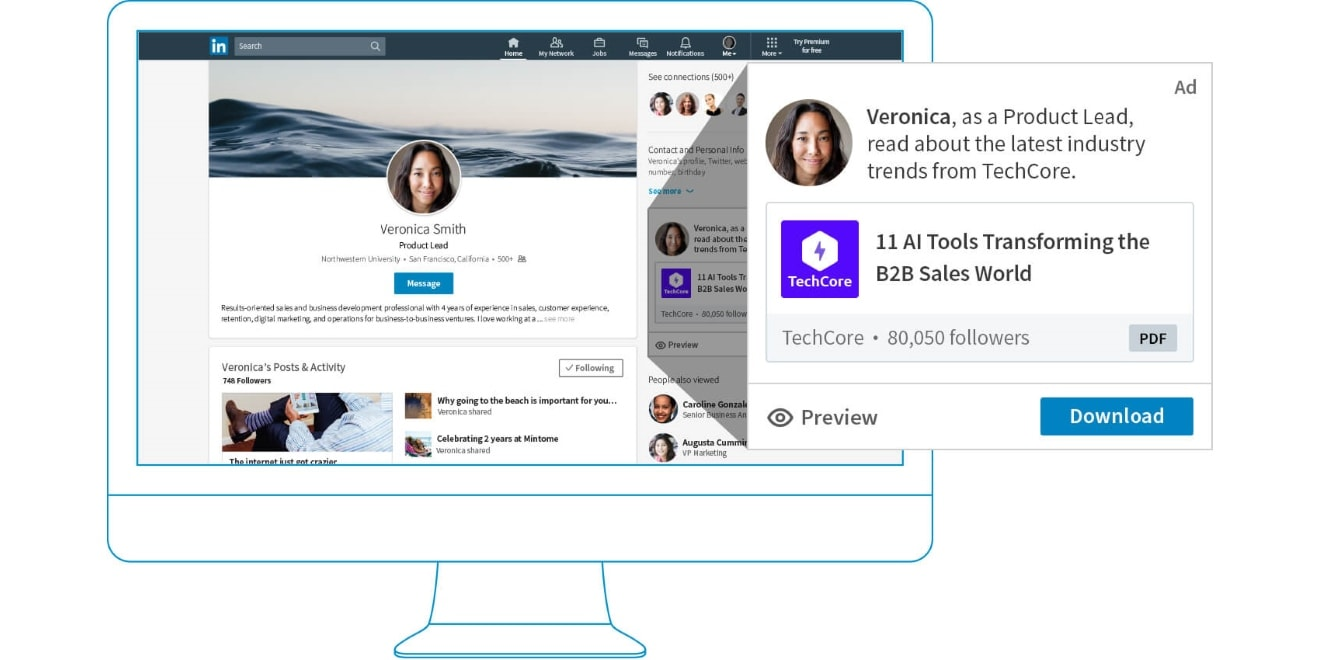 LinkedIn Dynamic Ads Are Now Available on a Self-Serve Basis via Campaign Manager