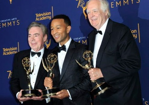With Superstar Emmy, John Legend, Andrew Lloyd Webber, Tim Rice are now EGOT winners