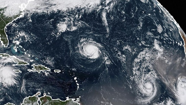 Strengthening Hurricane Florence targets U.S. southeast