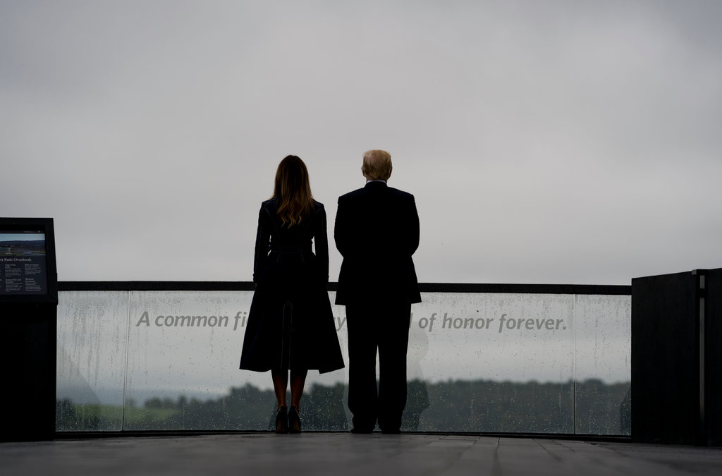 Trump Honors Heroes of Flight 93 on Sept. 11 Anniversary