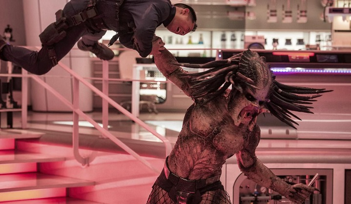 The Predator is back for action, as ugly as ever