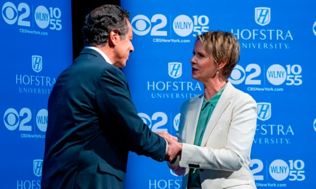 Cynthia Nixon confident despite polls favoring Cuomo in New York primary