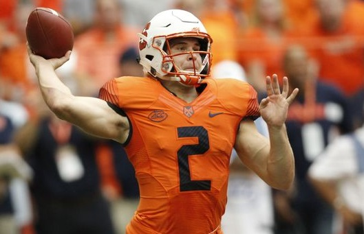Syracuse QB Eric Dungey hurt in 1st half vs. FSU
