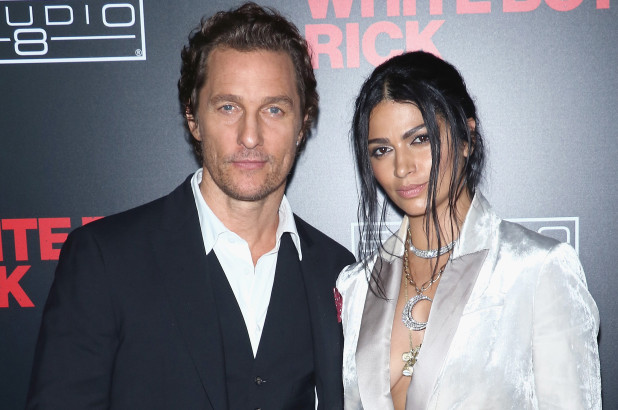 Matthew McConaughey, Camila Alves hit the dance floor at Cinema Society bash