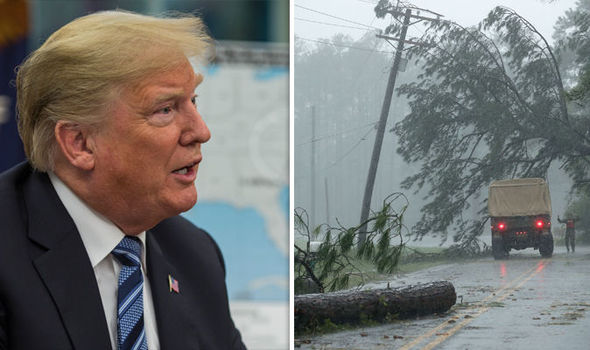 Hurricane Florence latest: Donald Trump set to visit areas RAVAGED by STORM