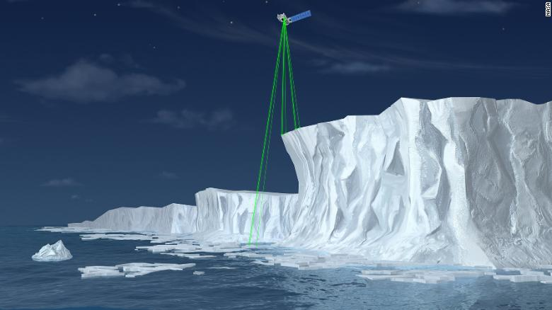 NASA  launches laser device into space to measure Earths polar ice