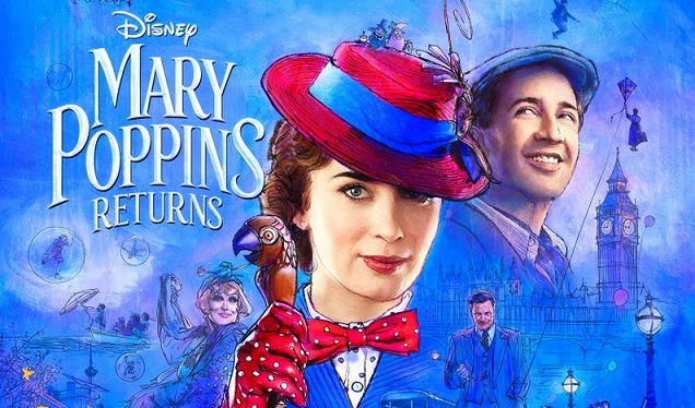 Mary Poppins Returns dazzles with new trailer