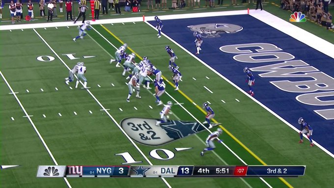 Dallas Cowboys find offensive identity in crucial win over New York Giants