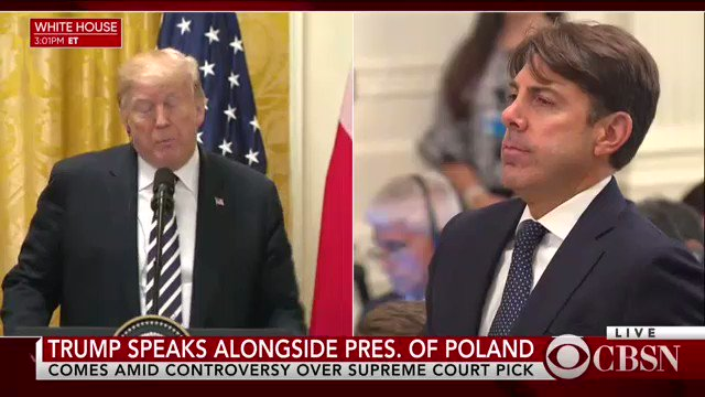 Trump, Polands president meet at White House — live updates