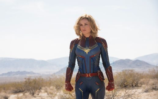Watch Brie Larson blast off as Marvels newest hero in the first Captain Marvel trailer