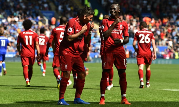 Alisson's blushes spared as Liverpool edge to nervy win at Leicester