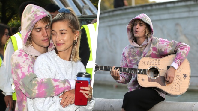 Justin Bieber Serenades Hailey Baldwin in the Streets of London