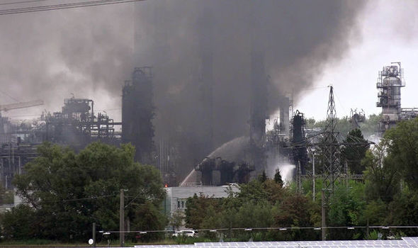Germany oil refinery EXPLOSION: Blast sparks HUGE fire – eight injured and 2,000 evacuated