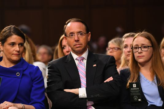 Report: Deputy AG Rod Rosenstein discussed using 25th Amendment to remove Trump