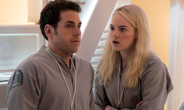 Maniac review – Jonah Hill and Emma Stone hit career highs in NYC dystopia