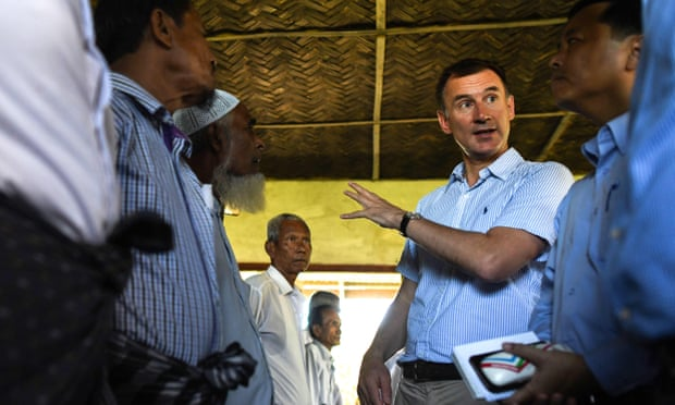 Jeremy Hunt: Burmese generals must face justice over Rohingya