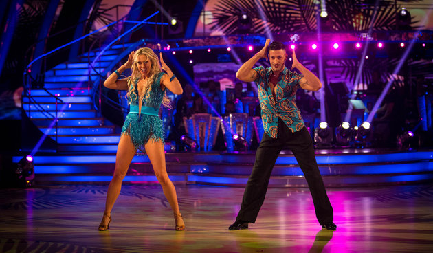 'Strictly Come Dancing' First Show Sees Faye Tozer And Ashley Roberts Top The Leaderboard, But Susannah Constantine Is Labelled A 'Car Crash'