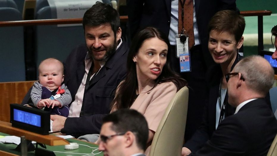 New Zealands first baby makes UN history at General Assembly