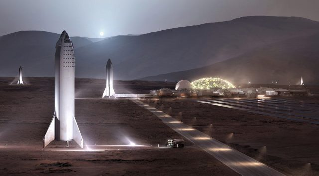Elon Musk Says a Mars Base Could Happen by 2028