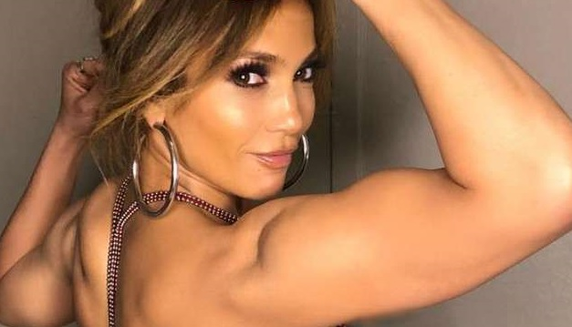 Jennifer Lopez Flexes Her Muscles and Shows Superwoman Strength in New Photo