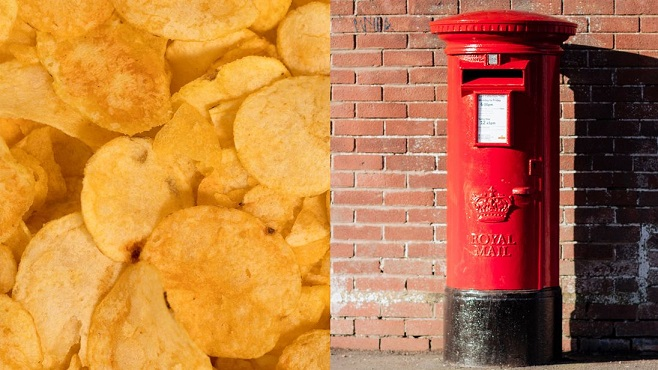 Royal Mail: Stop putting crisp packets in post boxes