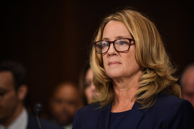 Brett Kavanaugh Accuser Christine Blasey Ford Testifies At Historic Senate Hearing