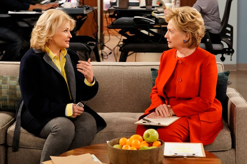 Hillary Clinton Makes a Surprising (and Hilarious) Cameo in Premiere of Murphy Brown Revival