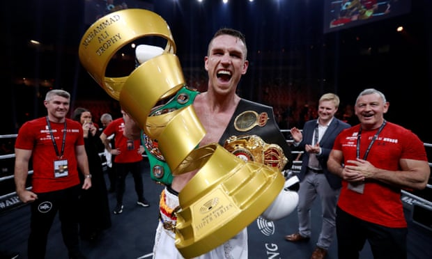 Callum Smith knocks out George Groves to land super-middleweight crown
