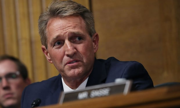 Jeff Flake: the man who may hold Kavanaughs future in his hands