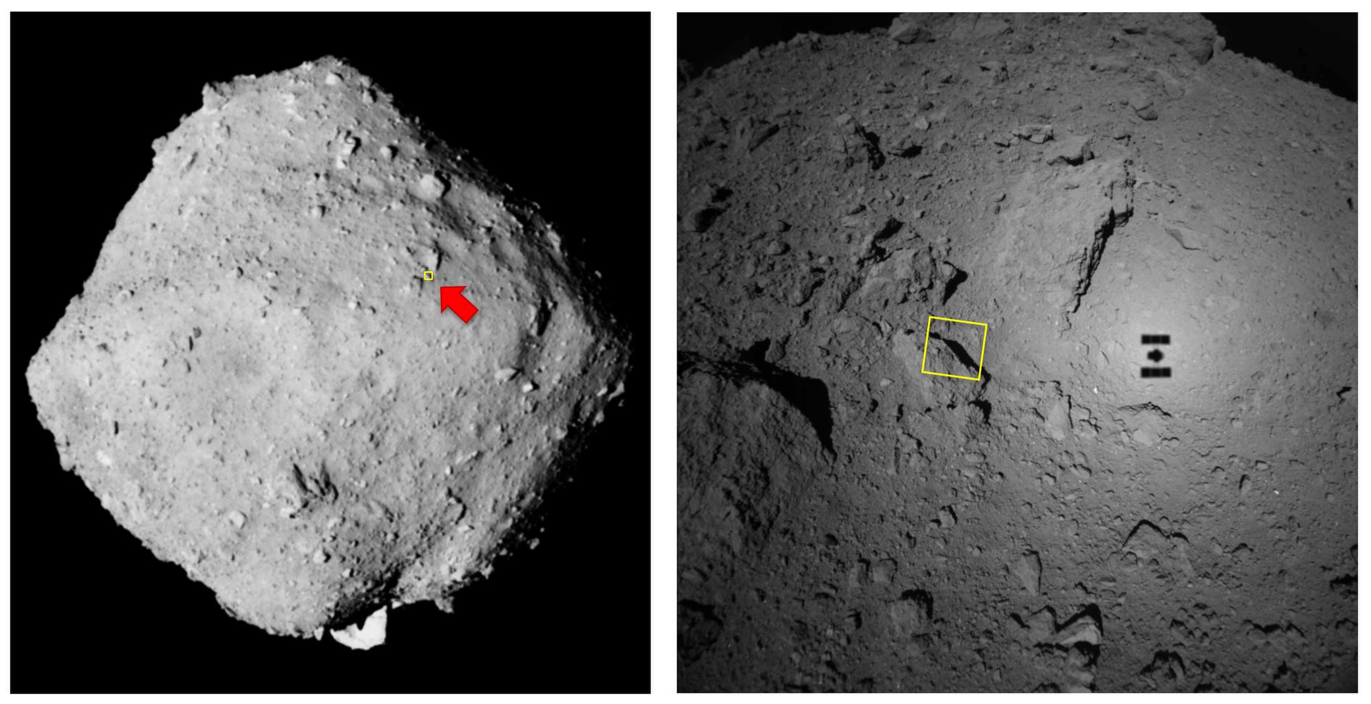 Wow! Asteroid Ryugus Rubbly Surface Pops in Best-Ever Photo