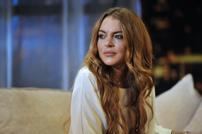 Lindsay Lohan Punched In The Face After Trying To Take Refugee Children From Parents