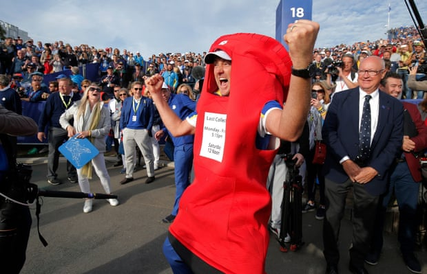 Ryder Cup 2018: Europe rout USA to exceed Thomas Bjørn's wildest dreams