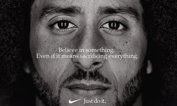 Colin Kaepernick becomes the face of Nikes Just Do It campaign