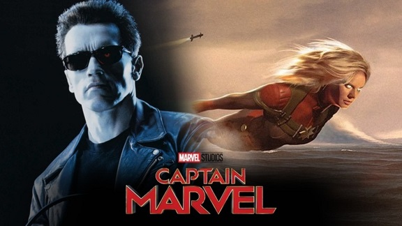 Captain Marvel Partially Inspired By Terminator 2