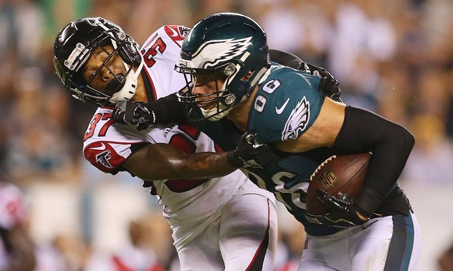 Eagles top Falcons in NFL season opener