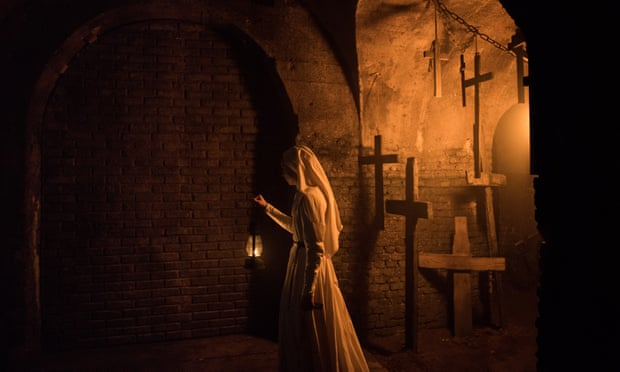 The Nun review – a clueless Conjuring cash-in that summons zero scares