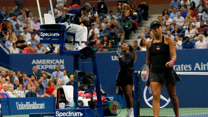 Serena Williams accuses officials of sexism and vows to fight for women