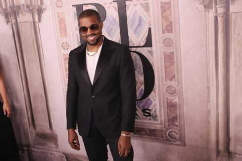 Kanye West shouts at reporter over Kim K, Tyson Beckford feud question at Ralph Lauren event