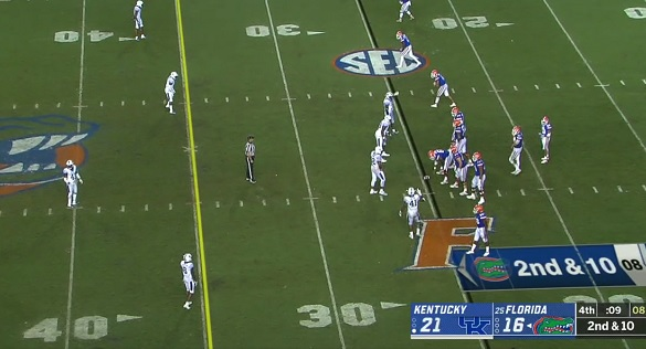Kentucky ends 31-game losing streak to Florida