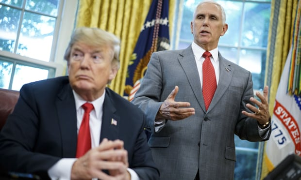 Mike Pence denies discussing plan to remove Donald Trump from power