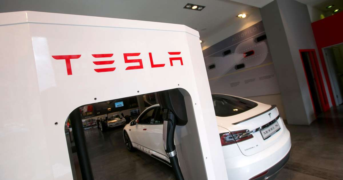 Tesla stock soars as surprise profit answers skeptics